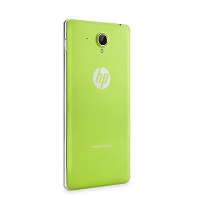 Hp tablet case: Groen batterijdeksel voor Slate 6 VoiceTab