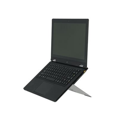 R-Go Tools R-Go Riser Attachable Laptopstandaard, verstelbaar, zilver Notebooksteun