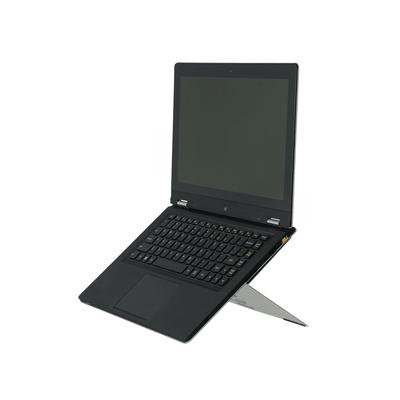 R-Go Tools R-Go Riser Attachable Laptopstandaard, verstelbaar, zilver Notebooksteun