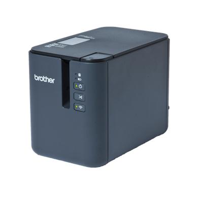 Brother Professionele met bekabelde en draadloze netwerkverbinding Labelprinter - Zwart