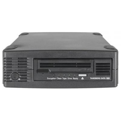 Tandberg data tape drive: LTO-7 HH SAS - Zwart