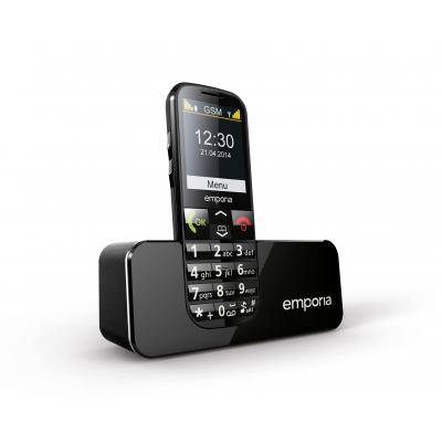 Emporia mobiele telefoon: ECO - Zwart