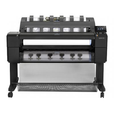 Hp grootformaat printer: Designjet T1500 PS 36-in ePrinter.