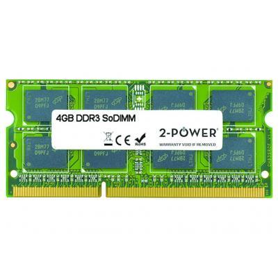 2-power RAM-geheugen: 4GB MultiSpeed 1066/1333/1600 MHz SoDIMM Memory - replaces GX70J36383