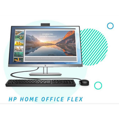 HP EliteDisplay HOME OFFICE FLEX BUNDEL Monitor - Zilver