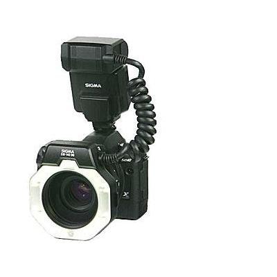 Sigma lens adapter: EM-140 DG Macro Flash (Nikon i-TTL) - Zwart