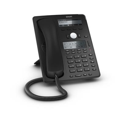 Snom ip telefoon: D745 - Zwart