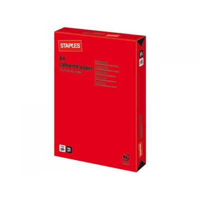 Staples papier: Papier SPLS A4 160g felrood/pak 250v