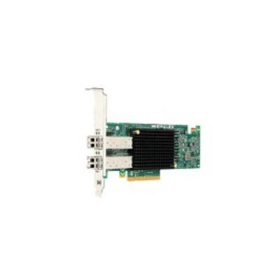 Lenovo netwerkkaart: PCIe, 10 Gb/s, 2 x SFP+, f / ThinkServer - Groen, Grijs