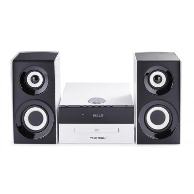 Bigben interactive home stereo set: MIC301BT - Zwart, Wit