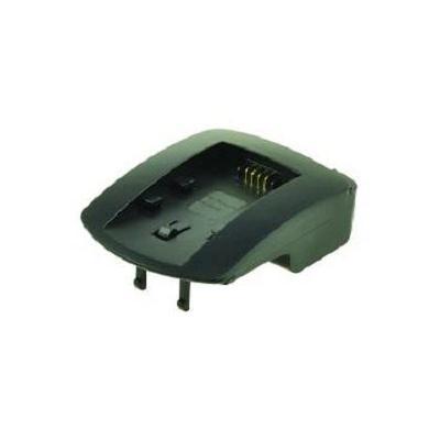 2-power oplader: Panasonic VW-VBK180/360, Black - Zwart