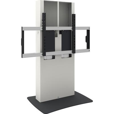 SmartMetals VESA, 1200 x 600 mm, 1190 - 1760mm, 20 mm/s, 180 kg, 145 kg, Wit, Zwart Monitorarm - Zwart, Wit