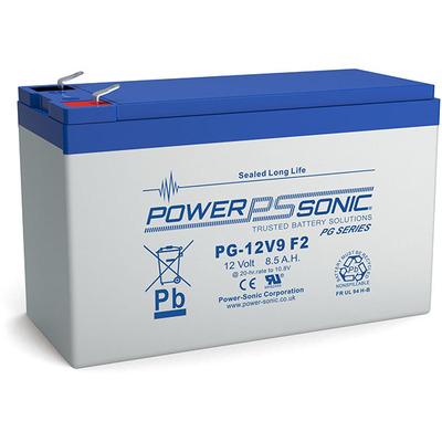 Power-Sonic PG-12V9 UPS batterij - Blauw, Grijs