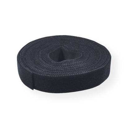 Value Strap Cable Tie Roll, 10mm, black, 25 m Kabelbinder - Zwart