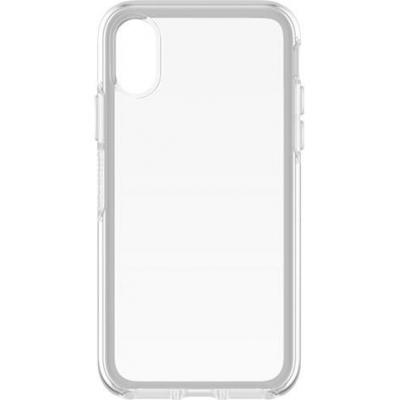 Otterbox mobile phone case: Symmetry Series Clear for iPhone X - Transparant