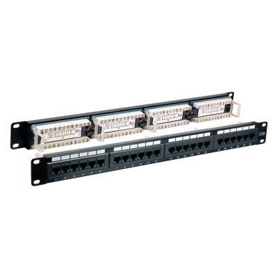 EFB Elektronik 37584.1 Patch panel - Zwart