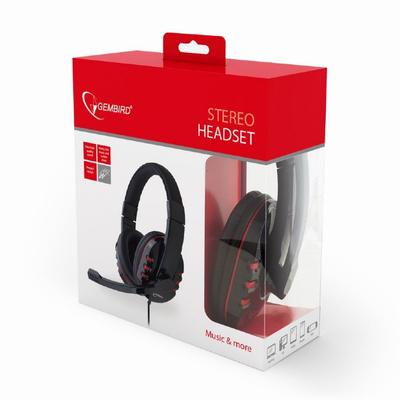 Gembird GHS-402 Headset - Zwart