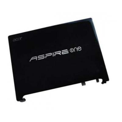 Acer notebook reserve-onderdeel: LCD Back Cover, Black - Zwart