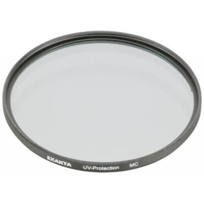 B+w camera filter: UV, MC 55 - Zwart, Transparant