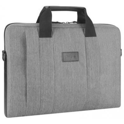 "Targus laptoptas: Grijze City Smart laptoptas (max. 15,6"") - Grijs"