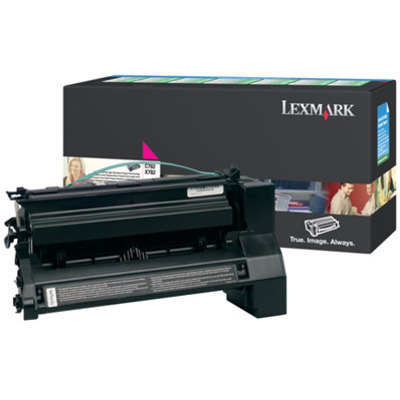 Lexmark C782, X782e magenta retourpr. printcartr., 15K Toner