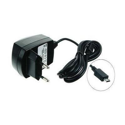 2-power oplader: Mobile Phone AC Adapter, 4 - 6.5V, 230V, Black, EU - Zwart