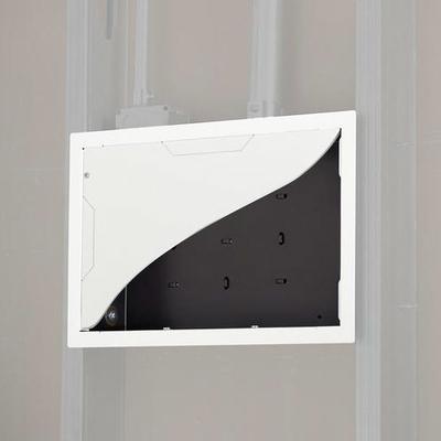 Chief In-Wall Storage Box Muur & plafond bevestigings accessoire - Zwart