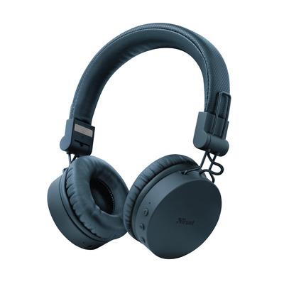 Trust Tones - Draadloze Koptelefoon - Blauw Headset