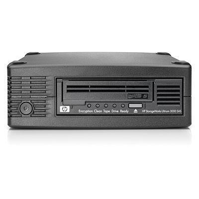 Hewlett Packard Enterprise HP LTO-5 Ultrium 3000 SAS Tape Drive in 1U Rack-mount tape autoader