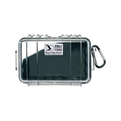 Peli 1050 MicroCase Apparatuurtas - Zwart, Transparant