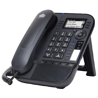 Alcatel-Lucent 8018 Cloud Edition IP telefoon - Zwart