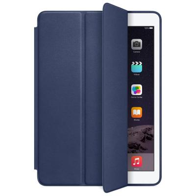 Apple tablet case: iPad Air 2 Leer Smart Case - Blauw