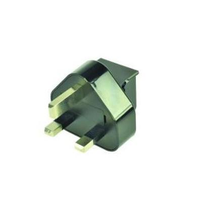 ASUS Power Adapter Plug (UK), Black stekker-adapter - Zwart