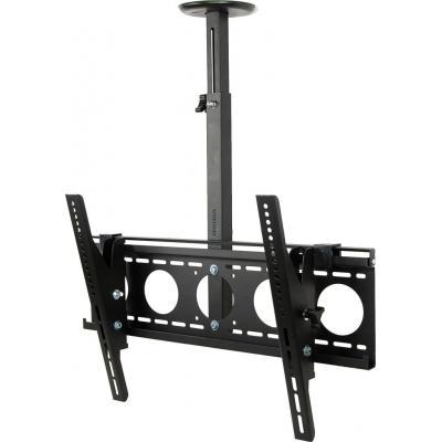 Vision flat panel plafond steun: 35 kg, 70″, 460-790mm, VESA, Black - Zwart