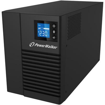 PowerWalker VI 1500T/HID UPS - Zwart