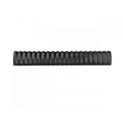 Gbc inbindkit: Bindrug 50mm 21-R zwart/doos 50