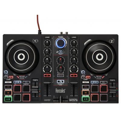 Hercules DJ controller: Inpulse 200 - Zwart