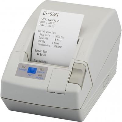 Citizen CT-S281L Pos bonprinter - Wit