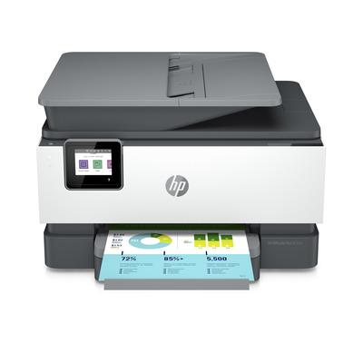 HP 9010e + Multifunctional - Zwart, Cyaan, Magenta, Geel