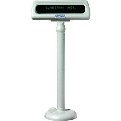 Glancetron DISP8034 Paal display - Wit