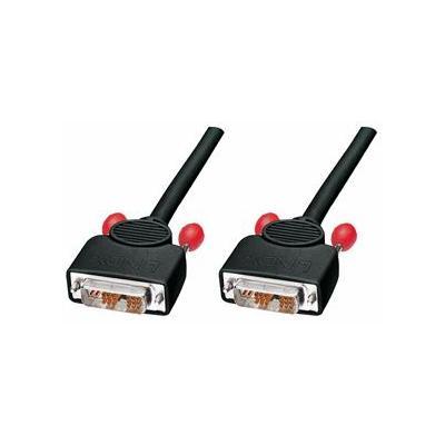 Lindy DVI kabel : 5m DVI-I Cable - Zwart