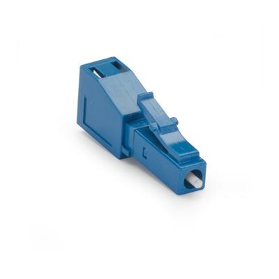 Black Box M/F LC, UPC, 2dB Fiber optic adapter - Blauw