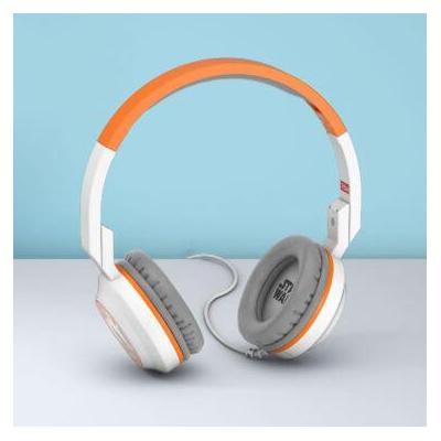 Tribe Star Wars BB-8 Headphones, 20 Hz - 20 KHz, 32 Ω, 105 dB, 1.2m Cable Headset - Oranje, Wit
