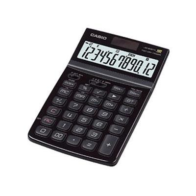 Casio calculator: JW-200TV Black - Zwart