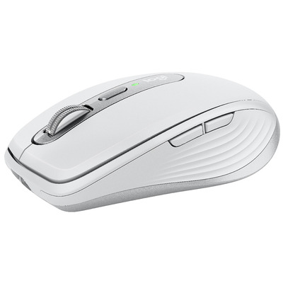 Logitech MX Anywhere 3 voor Mac Compact Computermuis - Zilver, Wit