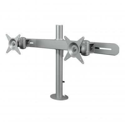 Dataflex monitorarm: Viewmate monitorarm - bureau 612 - Zilver