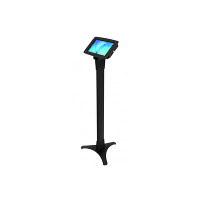 Compulocks Space Adjustable Galaxy Tab E Floor Stand Multimedia kar & stand - Zwart