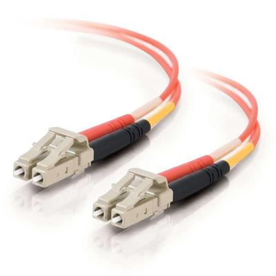 C2G 1m LC/LC LSZH Duplex 50/125 Multimode Fibre Patch Cable Fiber optic kabel