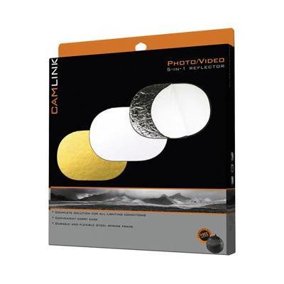 Camlink fotostudioreflector: CL-REFLECTOR20 - Zwart, Goud, Zilver, Doorschijnend, Wit