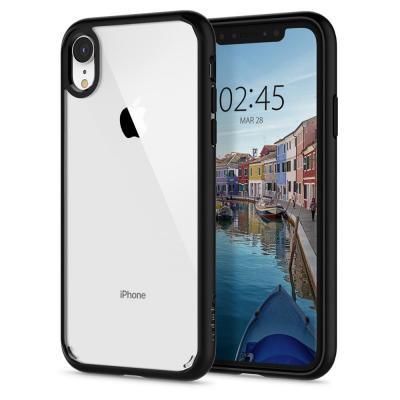 Spigen Ultra Hybrid mobile phone case - Zwart, Transparant